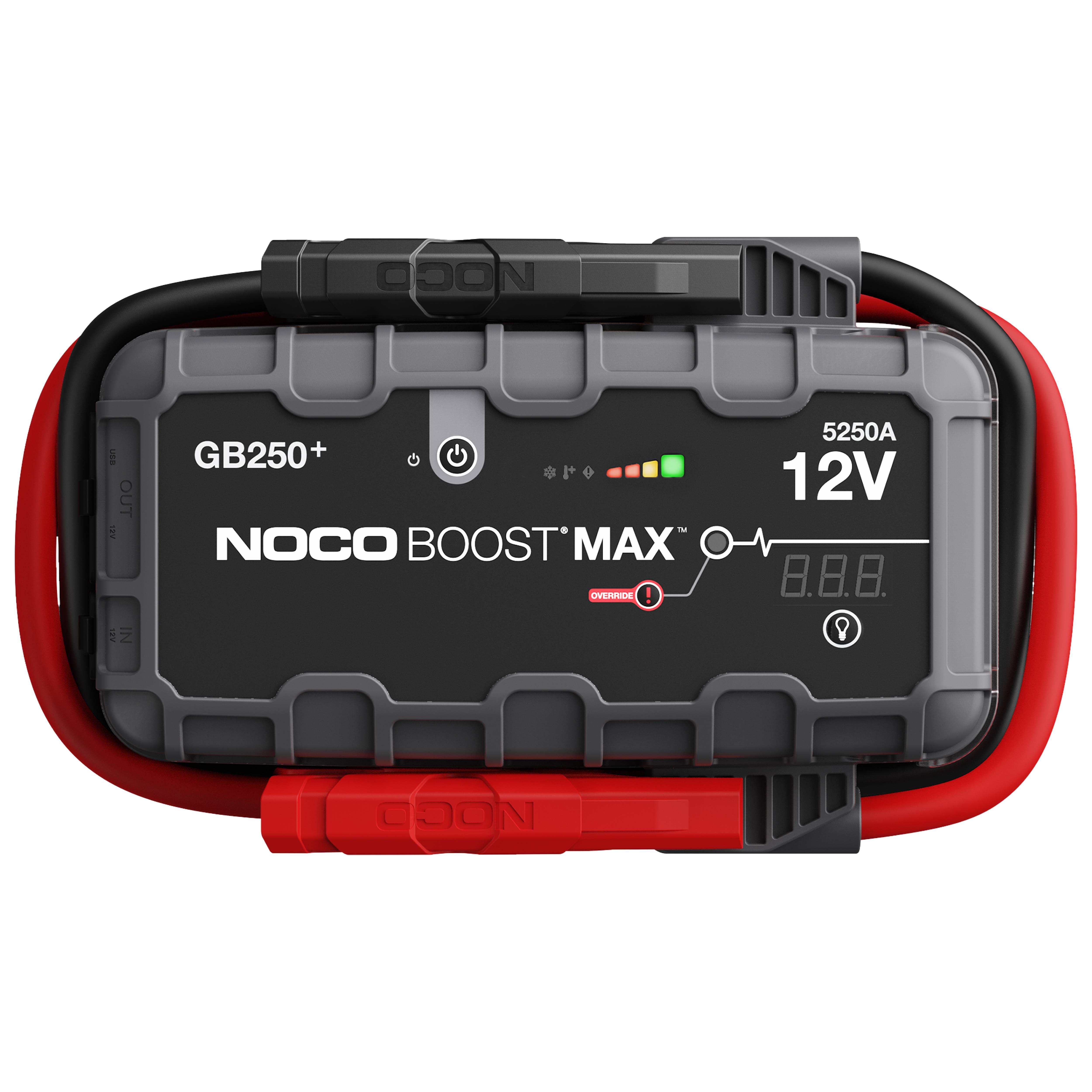 NOCO Boost Max 12V 5250A akkumulátor bikázó