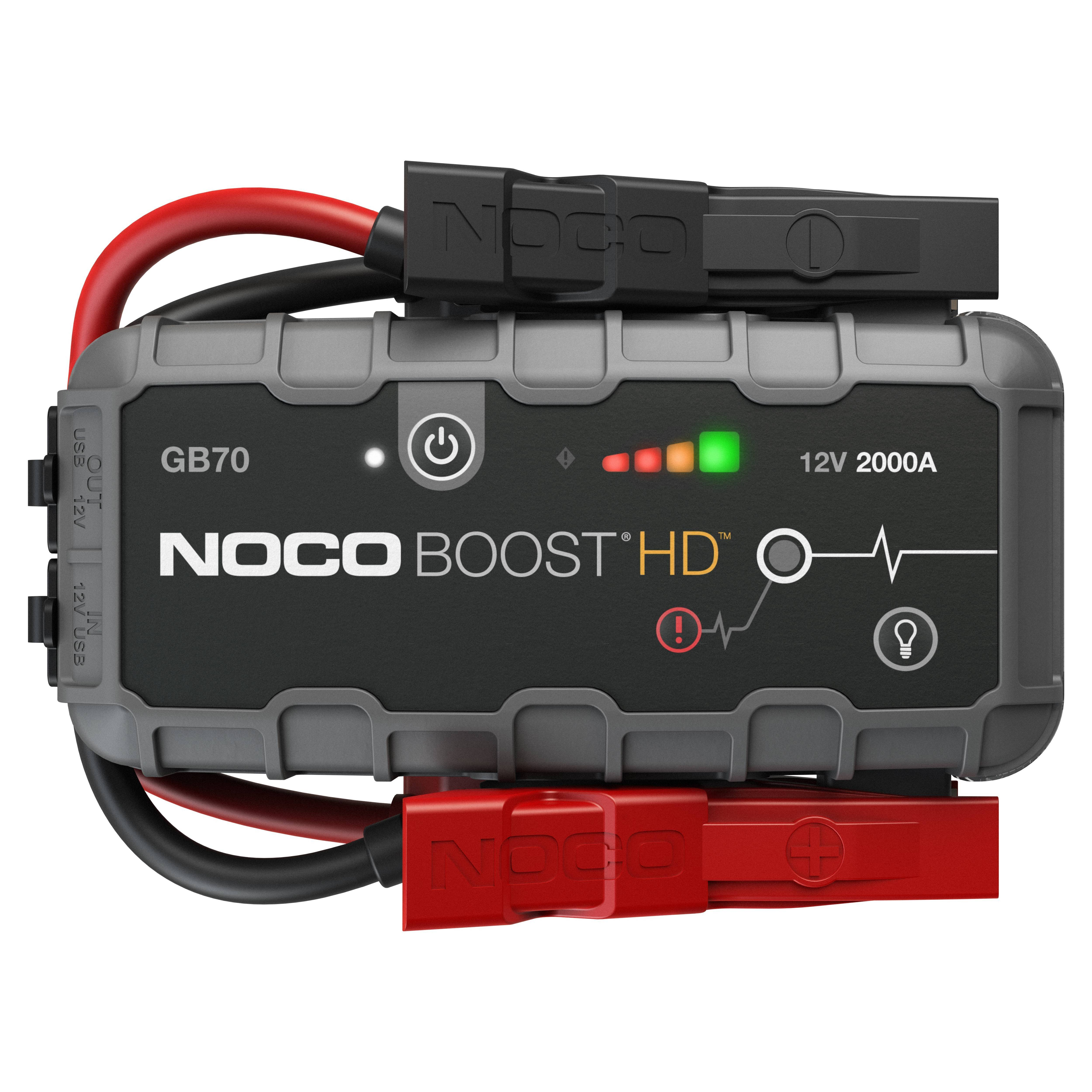NOCO GB70 Boost 12V 2000A akkumulátor bikázó