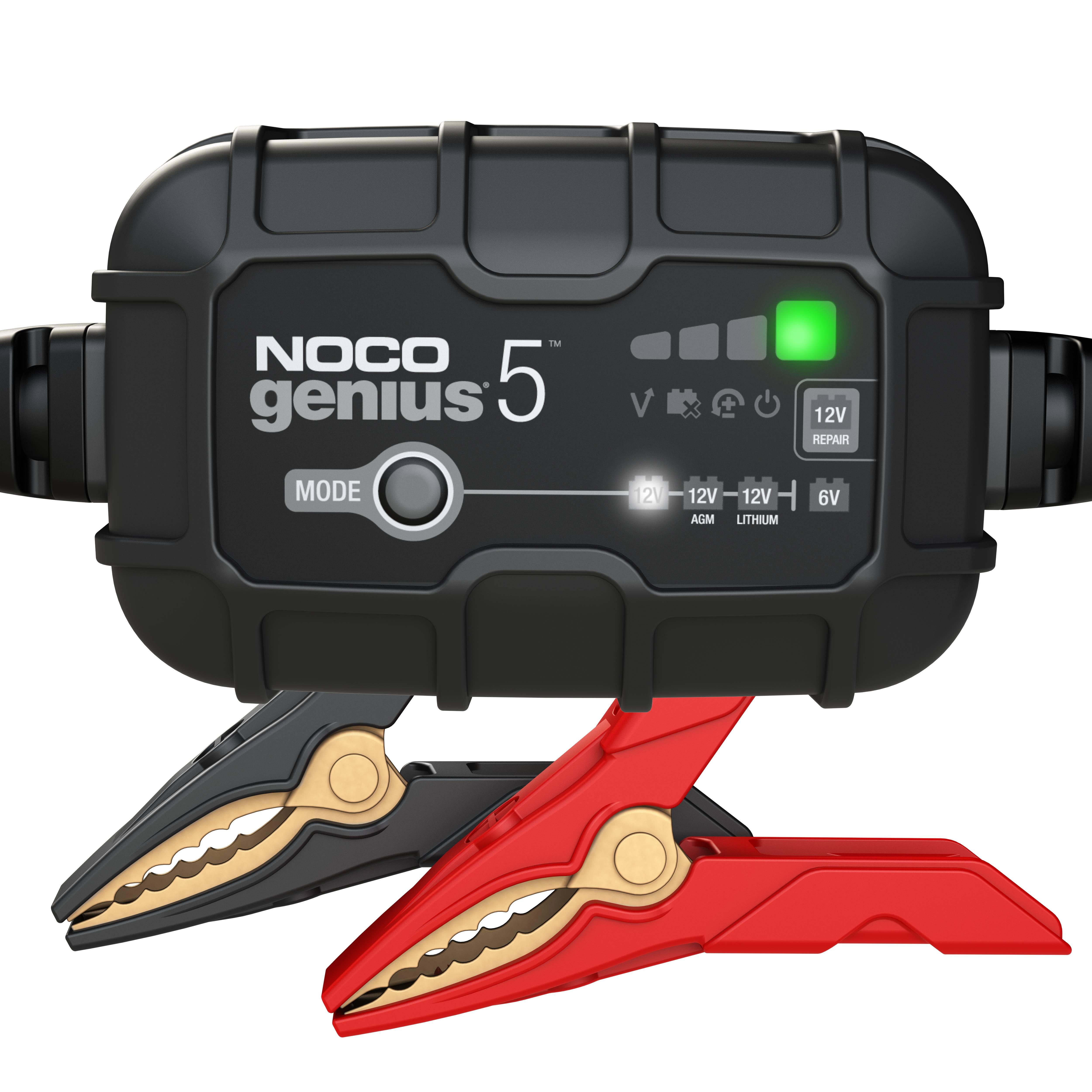 NOCO GENIUS5EU 5A akkumulátortöltő